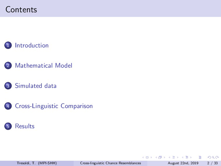 Contents 1 Introduction 2 Mathematical Model 3 ...
