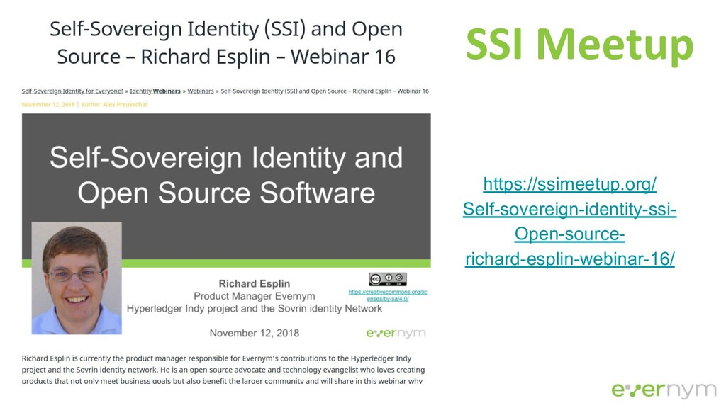 https://ssimeetup.org/ Self-sovereign-identity-...