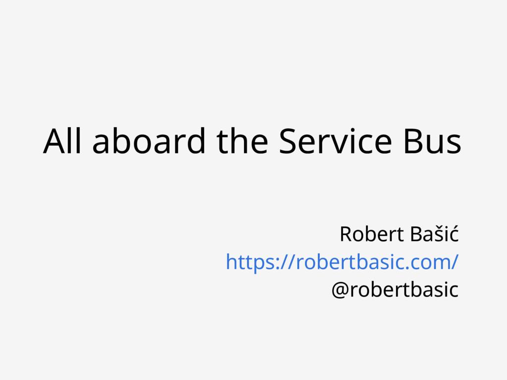 Robert Bašić https://robertbasic.com/ @robertba...