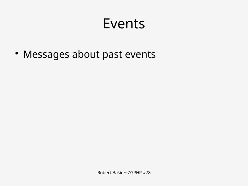 Robert Bašić ~ ZGPHP #78 Events ● Messages abou...