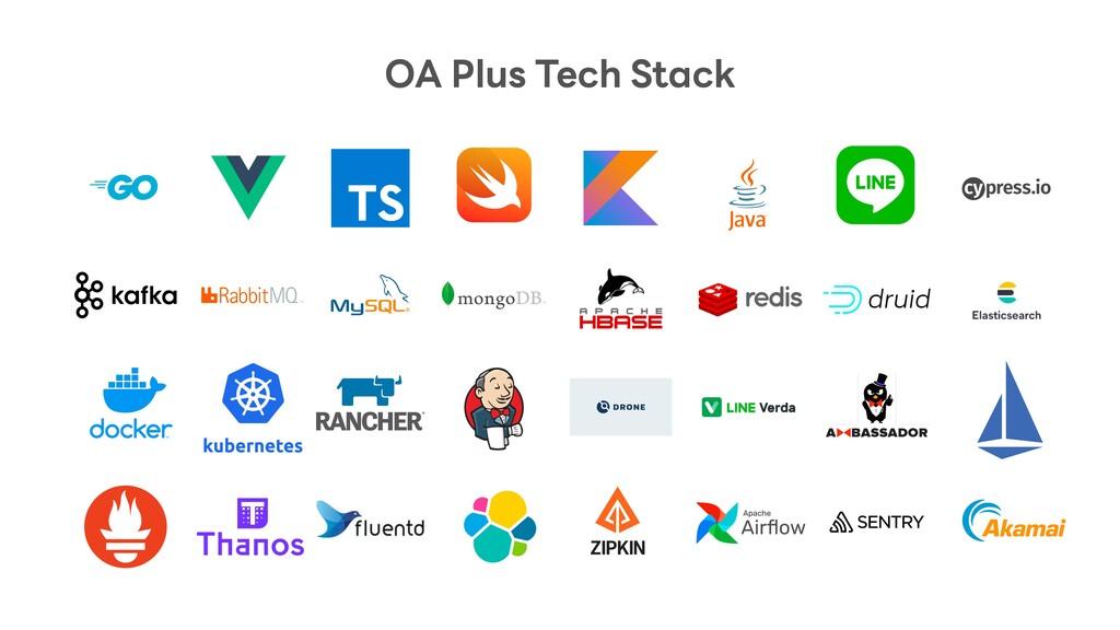 OA Plus Tech Stack