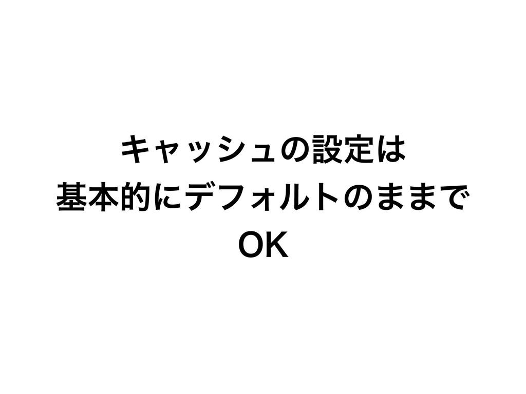 Ωϟογϡͷઃఆ جຊతʹσϑΥϧτͷ··Ͱ 0,
