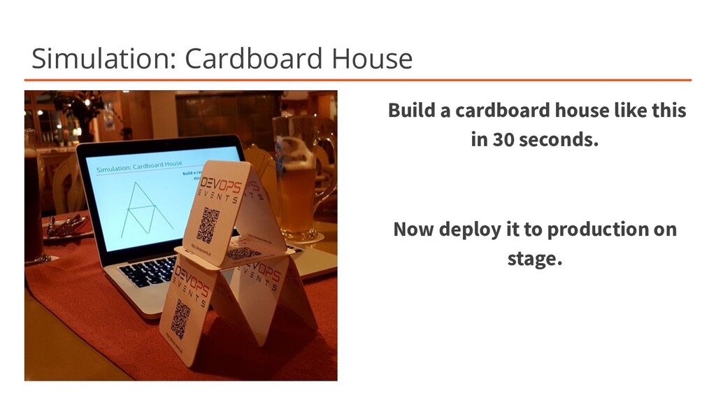 Simulation: Cardboard House Build a cardboard h...