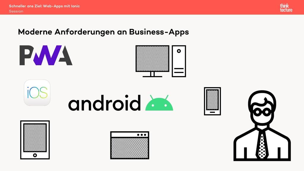 Moderne Anforderungen an Business-Apps Schnelle...