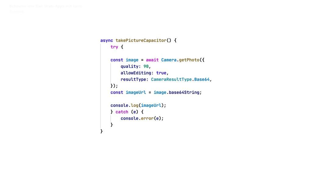 Schneller ans Ziel: Web-Apps mit Ionic Session