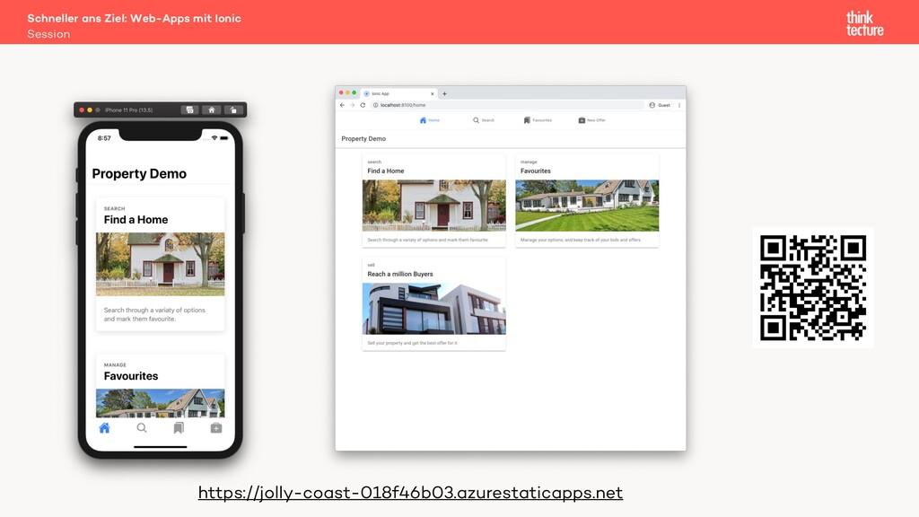 Schneller ans Ziel: Web-Apps mit Ionic https://...