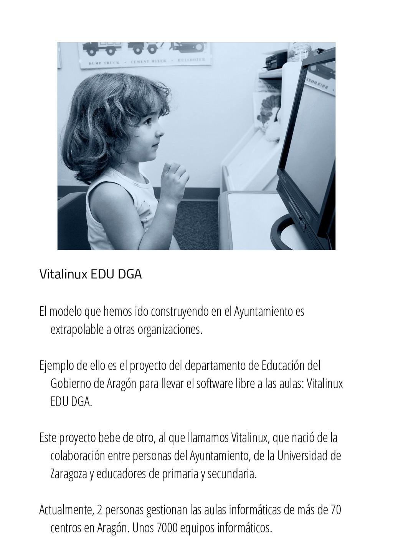Vitalinux EDU DGA El modelo que hemos ido const...