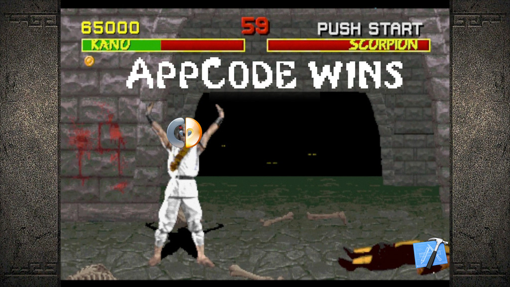 AppCode wins