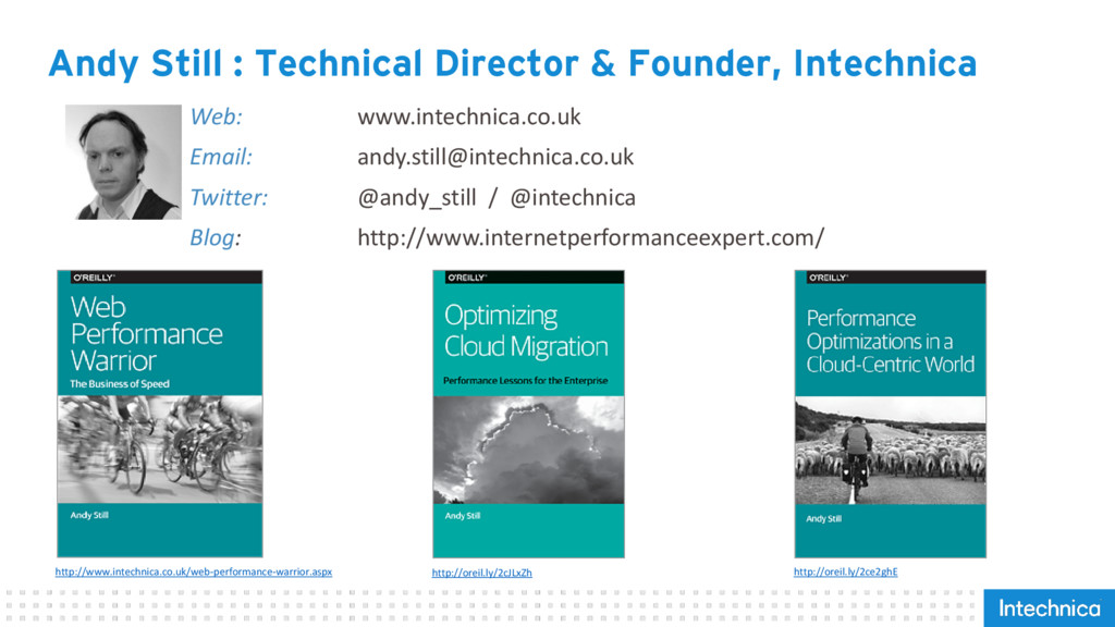 Andy Still : Technical Director & Founder, Inte...