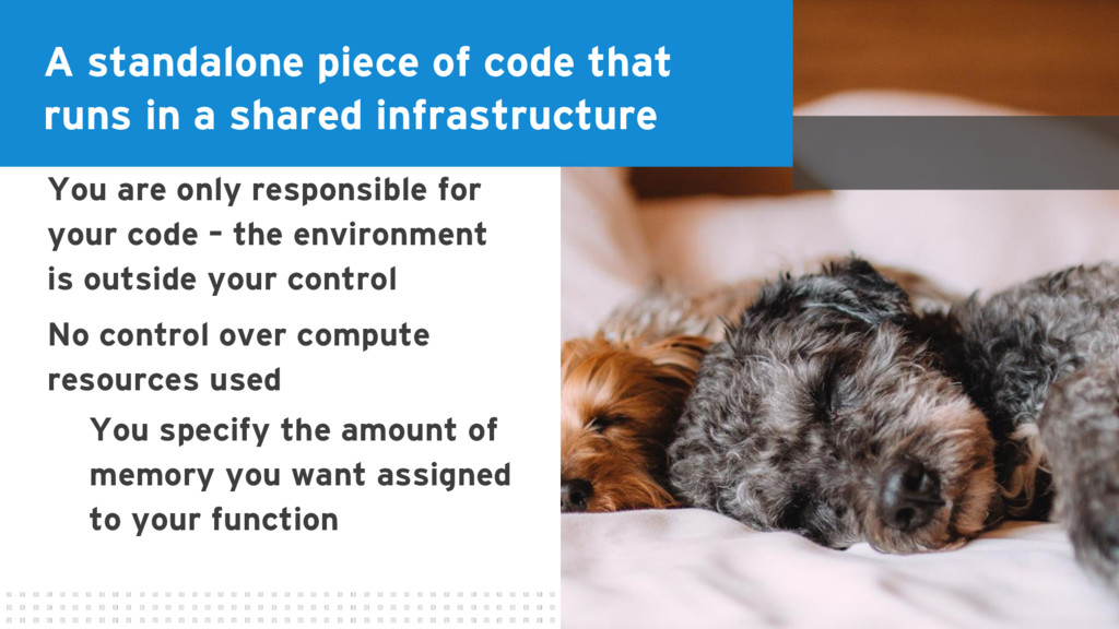 A standalone piece of code that runs in a share...