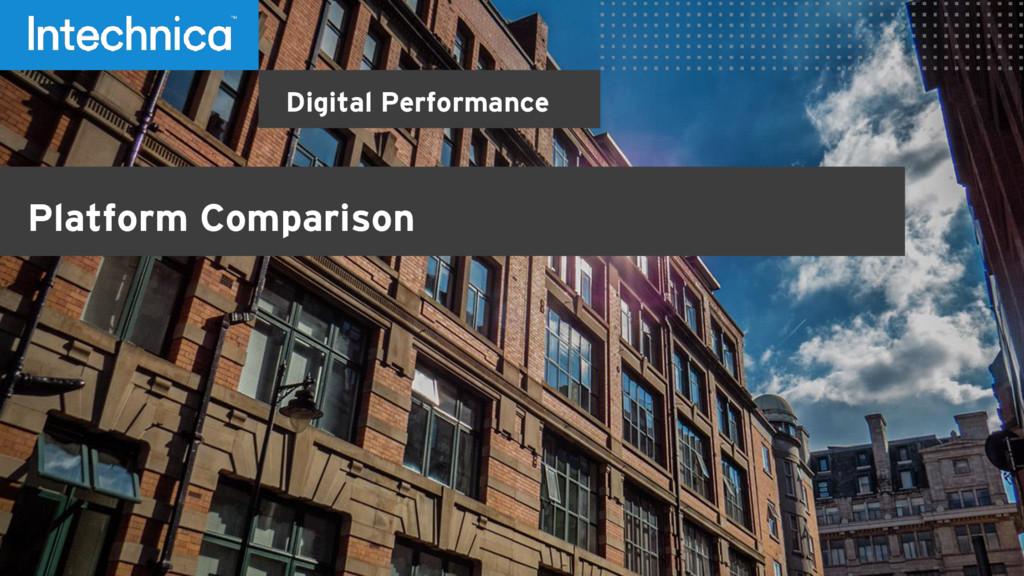 Digital Performance Platform Comparison