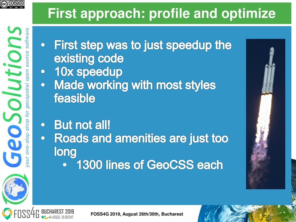 First approach: profile and optimize FOSS4G 201...