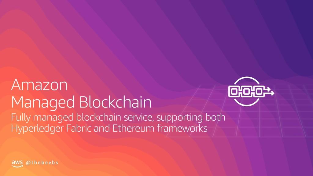 @ t h e b e e b s Amazon Managed Blockchain Ful...