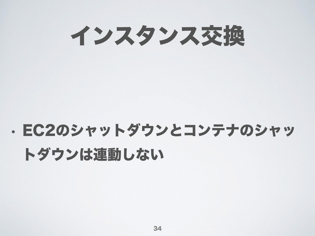 Πϯελϯεަ w &$ͷγϟοτμϯͱίϯςφͷγϟο τμϯ࿈ಈ͠ͳ͍