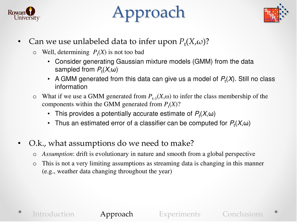 Approach • Can we use unlabeled data to infer u...