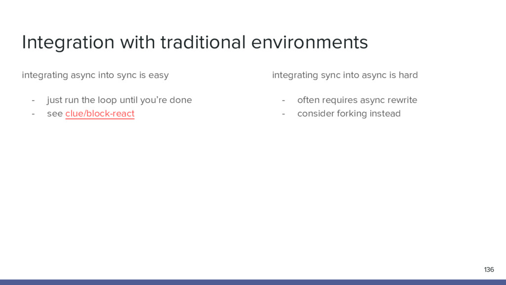 Integration with traditional environments 136 i...