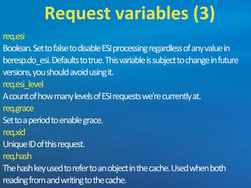 req.esi Boolean.'Set'to'false'to'disable'ESI'pr...