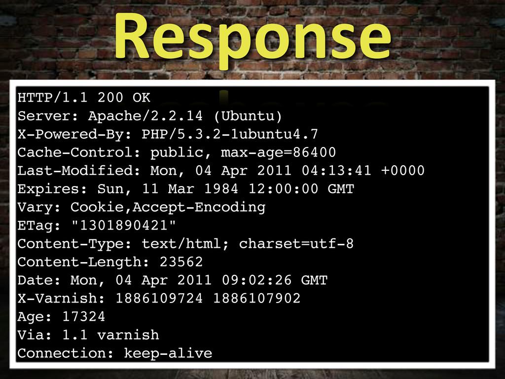 HTTP/1.1 200 OK Server: Apache/2.2.14 (Ubuntu) ...