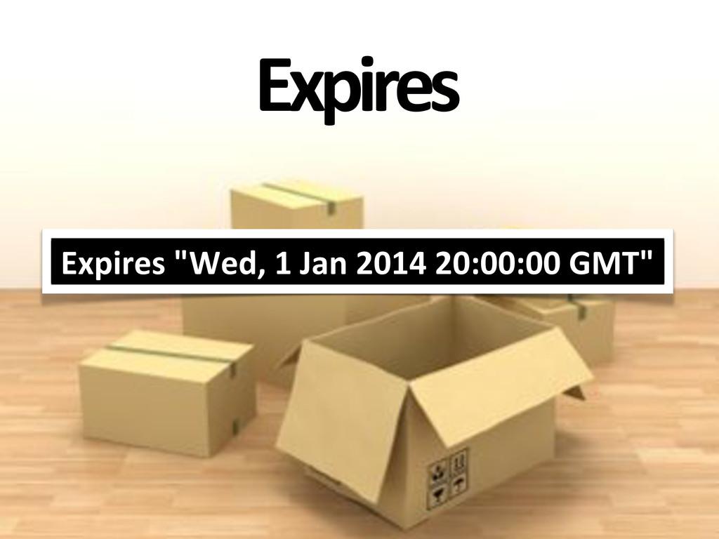 "Expires Expires'""Wed,'1'Jan'2014'20:00:00'GMT"""