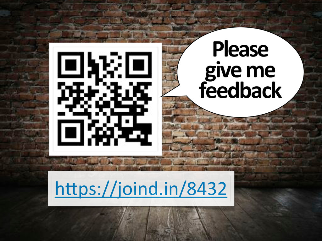 """h""""ps://joind.in/8432 Please# give#me# feedback"""