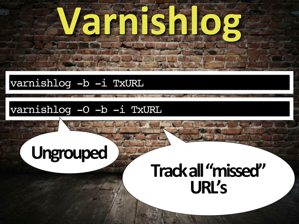 """varnishlog -b -i TxURL Varnishlog Track#all#""""mi..."""