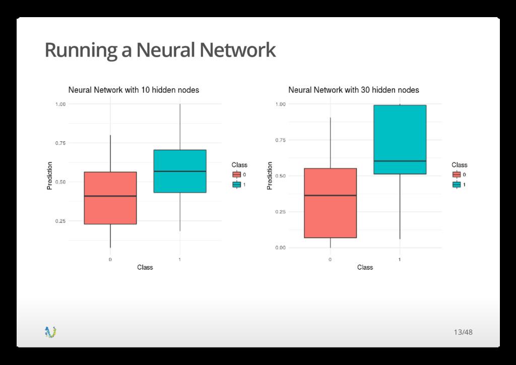 Running a Neural Network 13/48