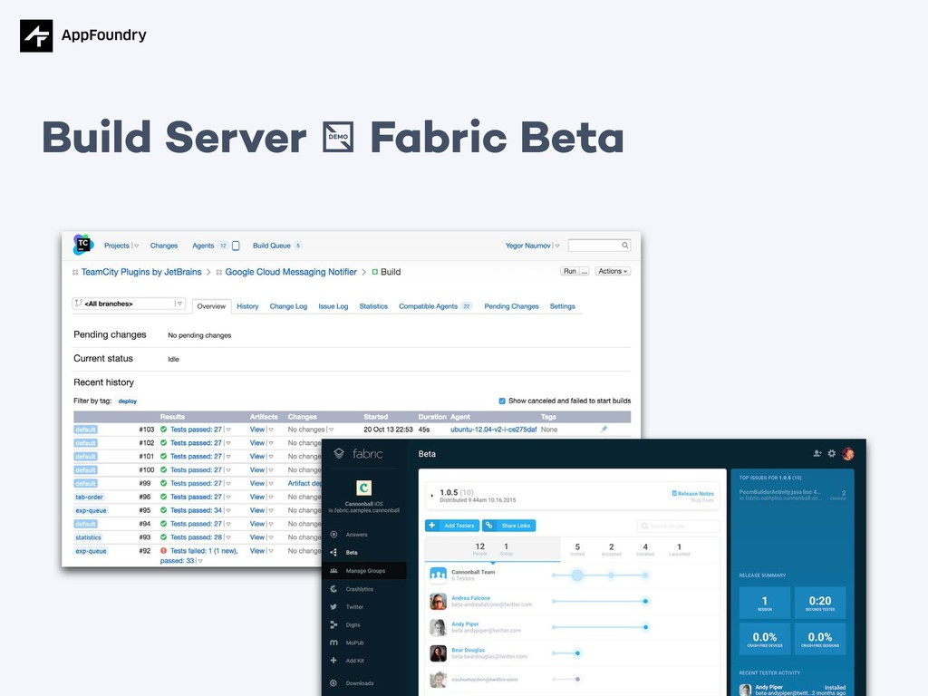 Build Server / Fabric Beta