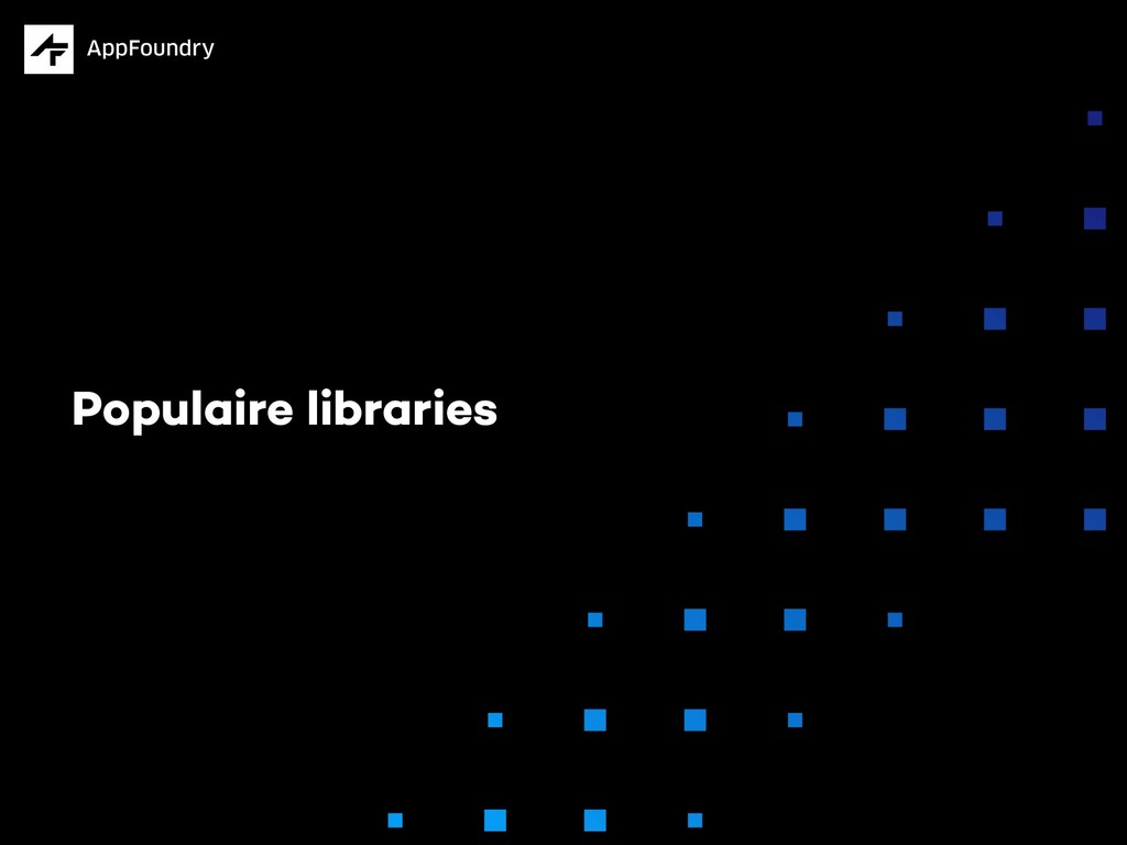 Populaire libraries