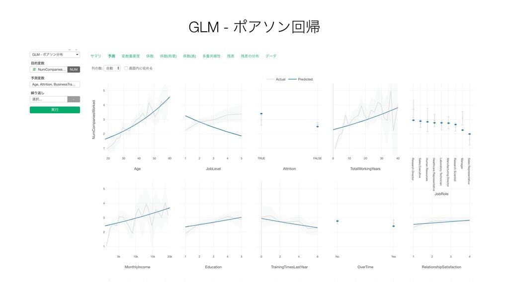 GLM - ϙΞιϯճؼ