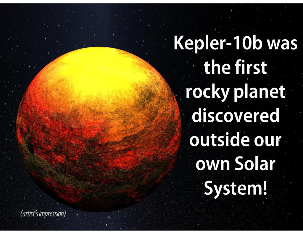 Kepler-10b was the first rocky planet discovere...