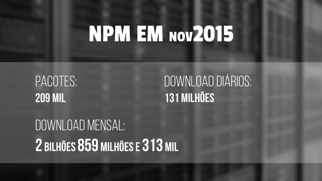 PACOTES: 209 MIL download diários: 131 MILHÕES ...