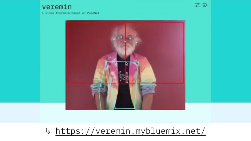↳ https://veremin.mybluemix.net/