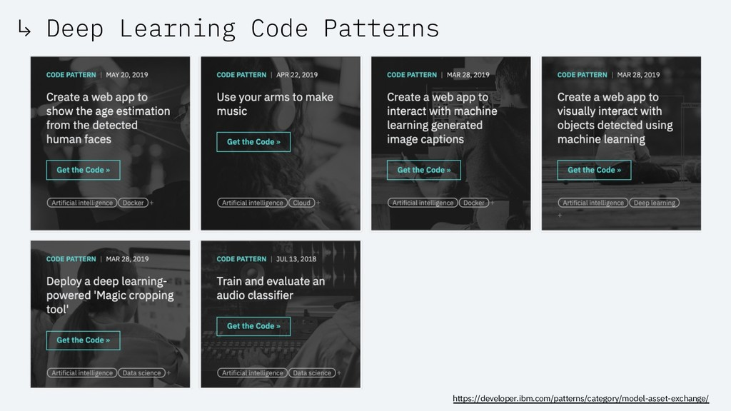 ↳ Deep Learning Code Patterns https://developer...