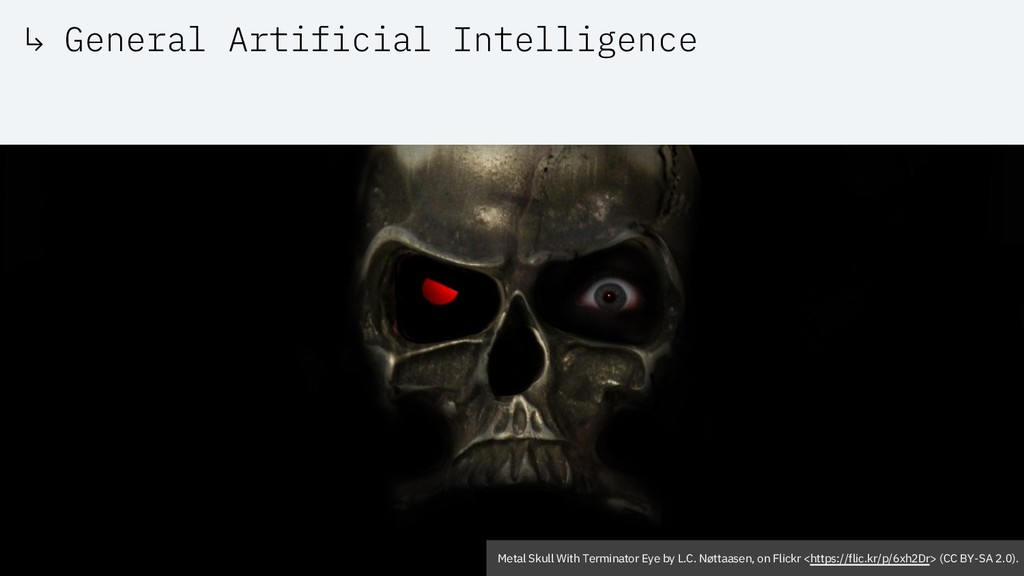 ↳ General Artificial Intelligence Metal Skull W...