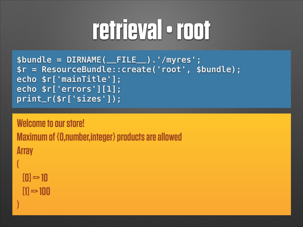 retrieval • root $bundle = DIRNAME(__FILE__).'/...