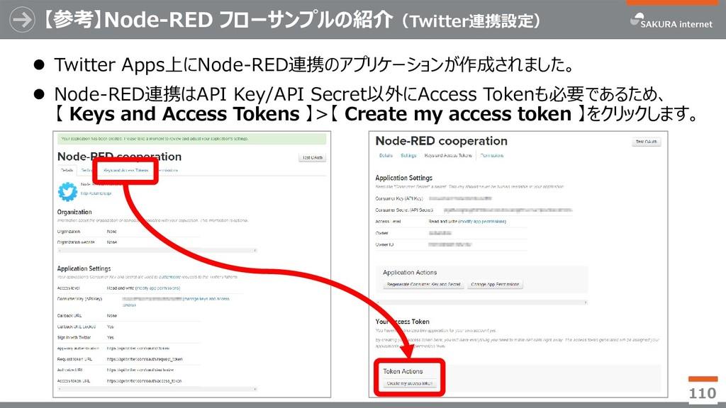 【参考】Node-RED フローサンプルの紹介(Twitter連携設定)  Twitter ...