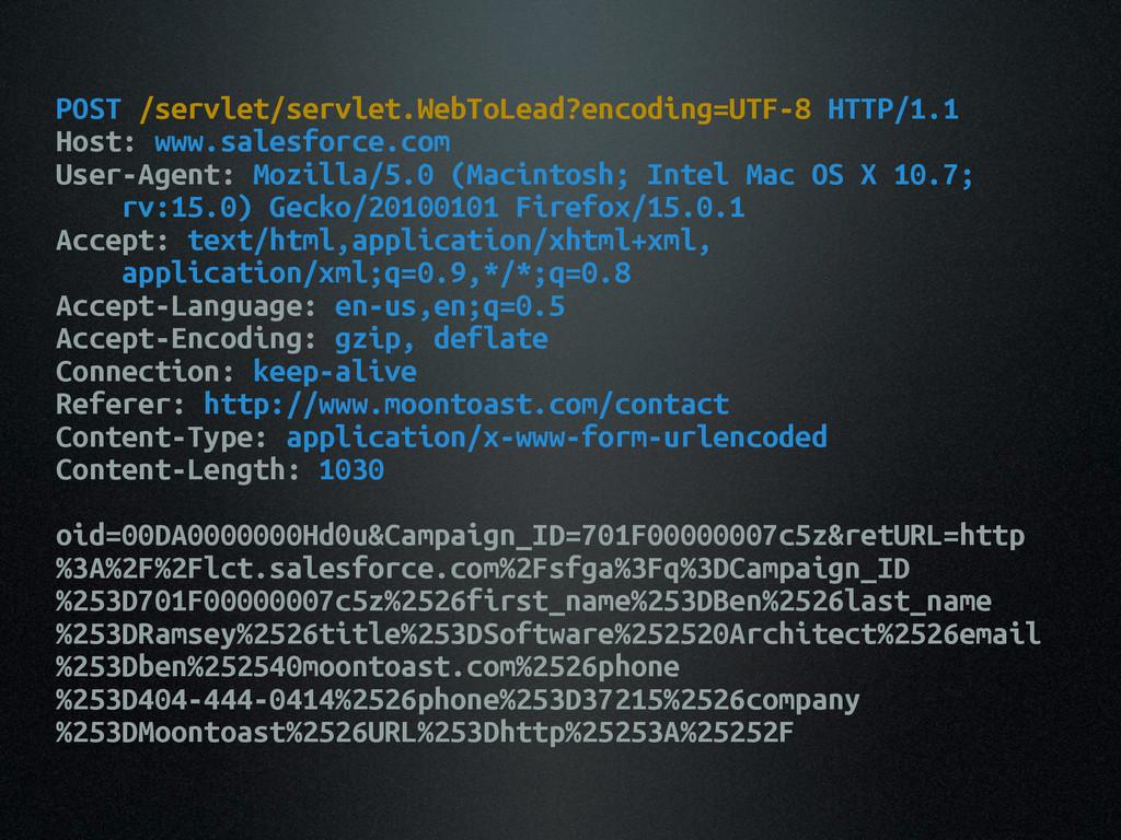 POST /servlet/servlet.WebToLead?encoding=UTF-8 ...