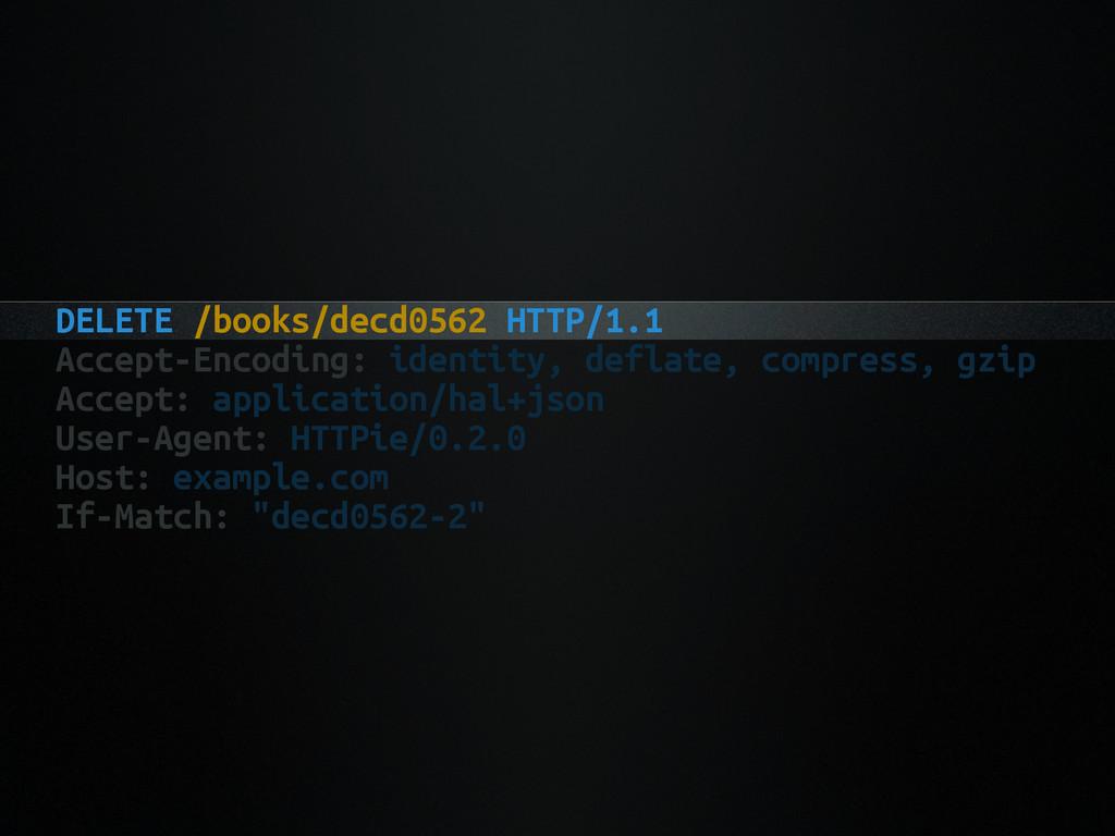 DELETE /books/decd0562 HTTP/1.1 Accept-Encoding...