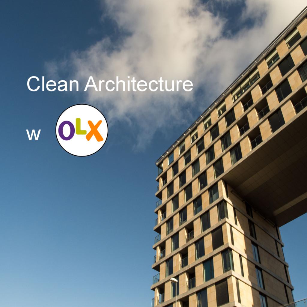 Clean Architecture w