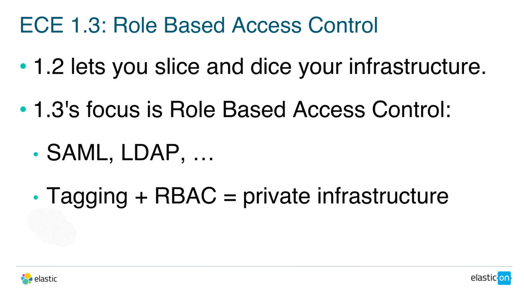ECE 1.3: Role Based Access Control • 1.2 lets y...