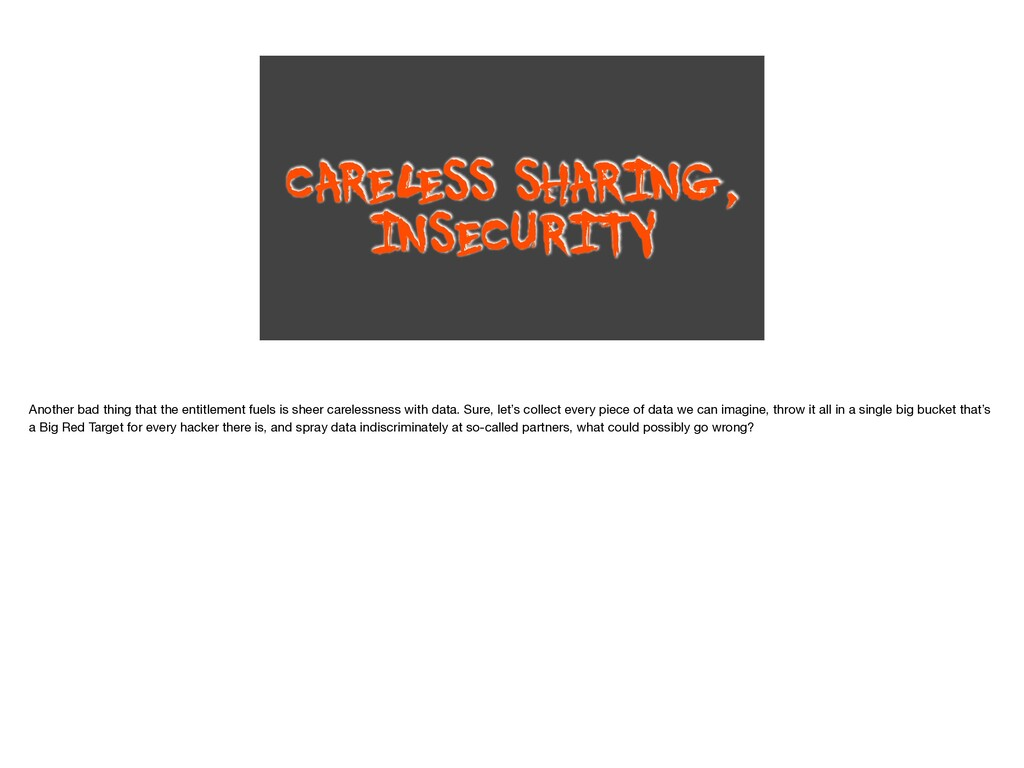 CAREL ESS SHARING, INSECURITY Another bad thing...