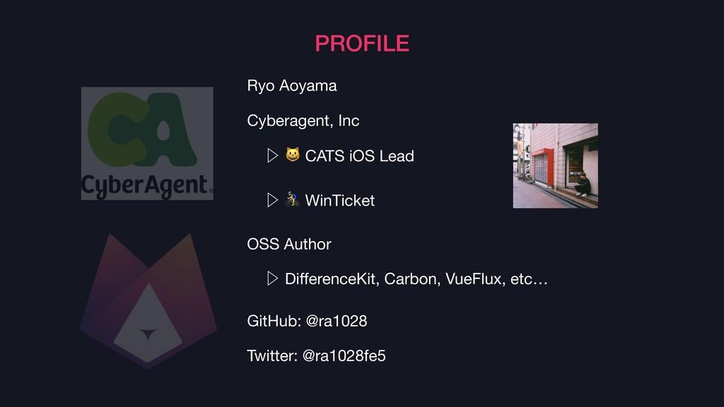 PROFILE Ryo Aoyama  Cyberagent, Inc  Ὂ  CATS iO...