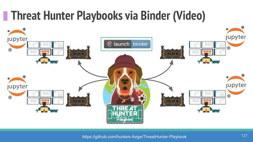Threat Hunter Playbooks via Binder (Video) 127 ...