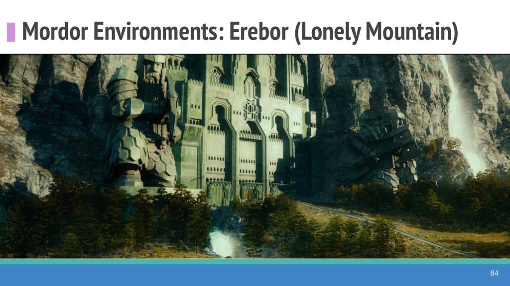Mordor Environments: Erebor (Lonely Mountain) 84