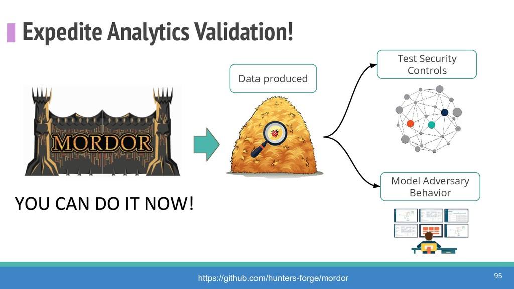 Expedite Analytics Validation! 95 https://githu...