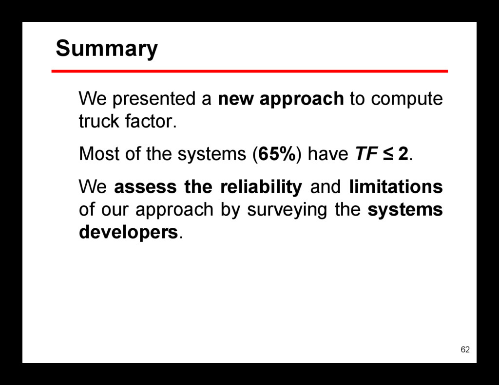 62 Summary We presented a new approach to compu...
