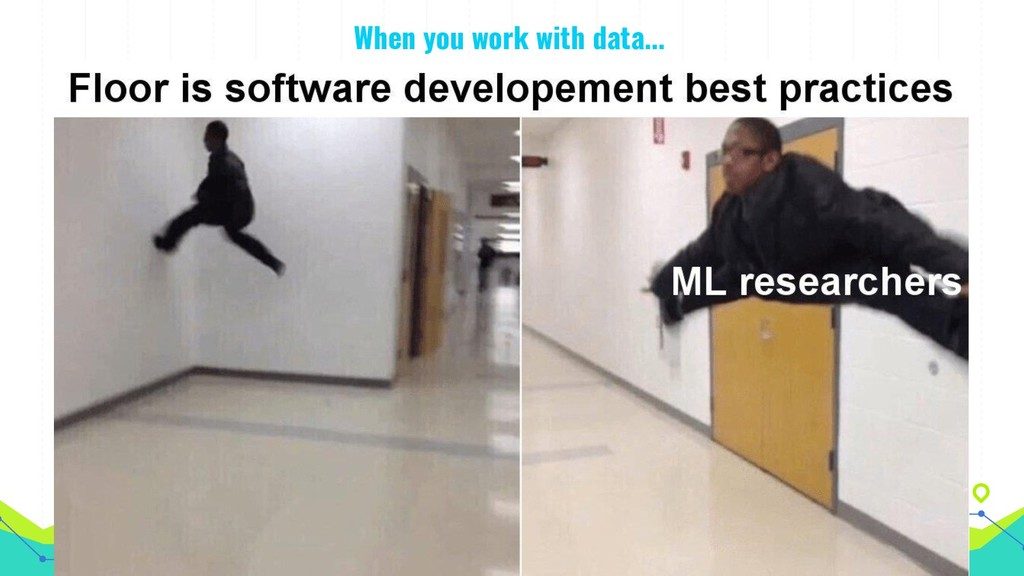 When you work with data...