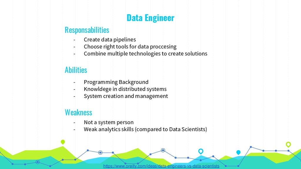Data Engineer - Create data pipelines - Choose ...