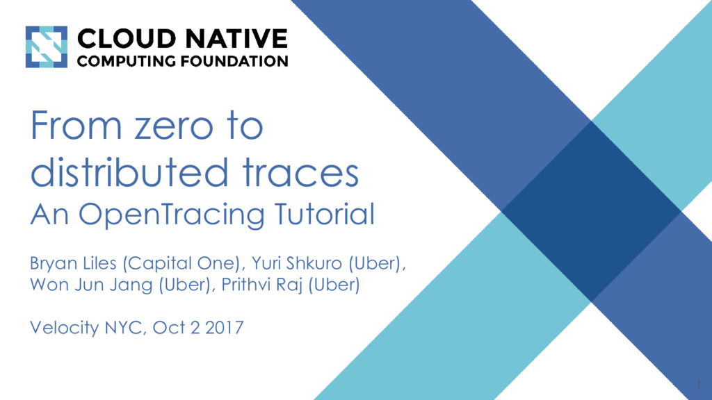 From zero to distributed traces An OpenTracing ...