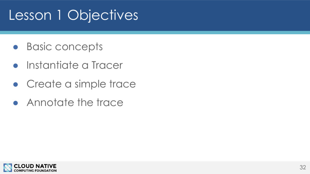 Lesson 1 Objectives 32 ● Basic concepts ● Insta...